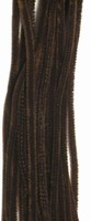 Chenille draad 6mm 12271-7114 Donkerbruin