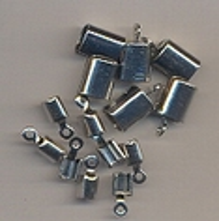 Veterklem/eindstuk zilver 8 stuks H|&C Fun 11808-1561 5mm