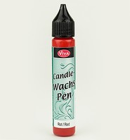 318040001 Viva Candle Wachspen Rot