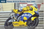 Max Biaggi Honda NCV  Moto GP 2003 22,9 cm 1:9