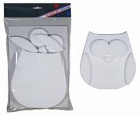 Styropor snijvorm Uil 5-delig (verpakt) MBF010