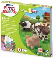 Fimo Kids Form & Play set 8034-01 Farm/Boerderij