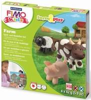 Fimo Kids Form & Play set 8034-01 Farm/Boerderij