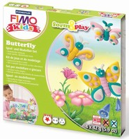 Fimo Kids Form & Play set 8034-10 Butterfly/Vlinders