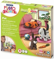 Fimo Kids Form & Play set 8034-02 Pets/Huisdieren