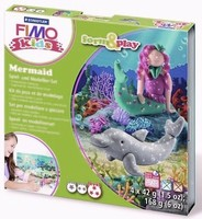 Fimo Kids Form & Play set 8034-12 Mermaid/Zeemeermin