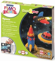 Fimo Kids Form & Play set 8034-09 Space/Ruimte