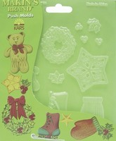 39007 Makin's Pushmold Kerstdecor