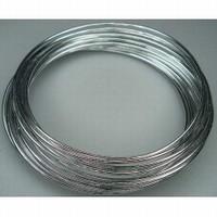 460102-21 Aluminium draad 2mm Zilver rond 5 meter
