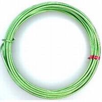 460102-34 Aluminium draad rond 2mm Groen 5 meter