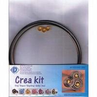 Crea Kit 450008-350 Aluminium ring Bruin-Brons