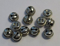 12242-4301 Kattebelletje 10mm zilverkleurig 16 stuks