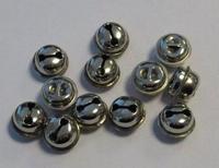 12242-4302 Kattebelletje 13mm zilverkleurig 12 stuks