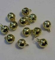 12242-4311 Kattebelletje 10mm goudkleurig 16 stuks