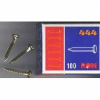 840731 Splitpennen goudkleurig 100stuks