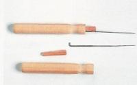 Viltnaald met houten heft, verwisselbaar Glorex04230