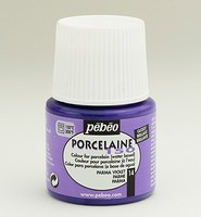 Pebeo porseleinverf: 014 Glossy Violet flacon 45ml