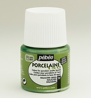 Pebeo porseleinverf: 026 Glossy Malachite green flacon 45ml