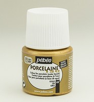 Pebeo porseleinverf 45ml: 044 Metallic Gold