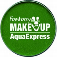 Schmink:37-007 Fantasy Aqua Make Up Groen