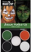 Schmink: 37086 Fantasy Aqua Make Up set Pompoen-Heks