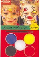 Schmink:37083 Fantasy Aqua Make Up set Bloemen - Ballonnen