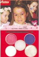 Schmink:37081 Fantasy Aqua Make Up set Prinses