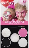 Schmink:37082 Fantasy Aqua Make Up set Prinses