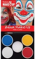 Schmink:37089 Fantasy Aqua Make Up set Clown