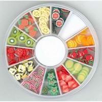 340000001 Nail Art Fimo embellishments Fruit