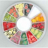 340000001 Nail Art Fimo embellishments Fruit