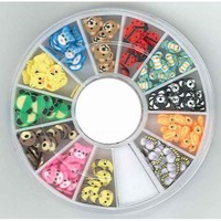 340000002 Nail Art Fimo embellishments Animals