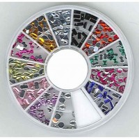 340000008 Nail Art Acryl colour mix