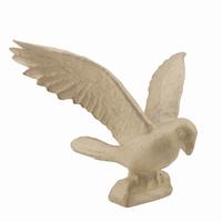 Decopatch MA009O Papier-mache Papagaai, open vleugels