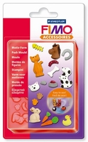 FIMO duwvorm/pushmold 8725-02 Huisdieren