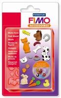 FIMO siliconen duwvorm/pushmold 8725-02 Huisdieren