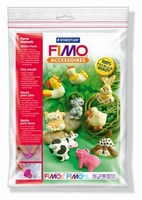 Fimo kleivorm/gietvorm 8742-01 Boerderijdieren