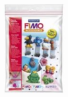 Fimo kleivorm/gietvorm 8742-09 Grappige dieren