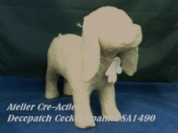 Decopatch SA149O Papier-mache Hond Cocker Spaniel
