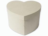 Papier mache doos; 211929-2951 Hartendoos karton 27cm 26x27x17cm