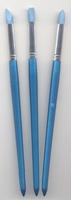 H&C12185-8511 Rubber modelleer penselen set 3 stuks