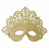 Decopatch Papier mache masker: AC786C Prinsess