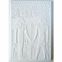 Gietvorm Egyptisch relief 88001 Koning Haremhab en Isis