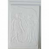Gietvorm Egyptisch relief 88005 Toetanchamon en Nefertete
