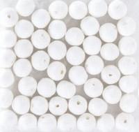 Wattenbollen wit KP212660.105 10mm 50stuks