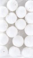 Wattenbollen wit KP212660.253 25mm 25stuks