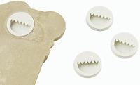 Knorr Prandell Gips ingiethaakjes KP213913000 zakje 10 stuks 20mm / 5mm