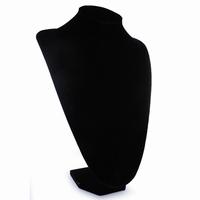 Sieradendisplay zwart fluweel hoog 35cm EKZ100-35
