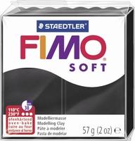 Fimo soft 09 zwart