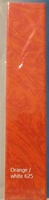 625 Friendly Plastic/Plast.Magique Orange/White 18x4cm